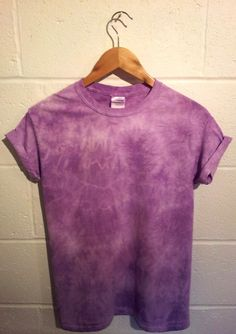 Tie Dye / Dip Dye / Hipster / Grunge / T Shirt by Vulfhead on Etsy, £6.95
