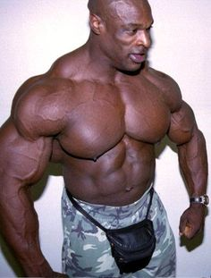 The King Ronnie Coleman -wouldn't be bodybuilding without a fanniepack!