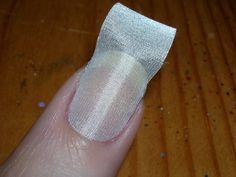 Fiberglass Nail Wraps – the Safest Nail Enhancement: Fiberglass Nail Wraps… Silk Wrap Nails, Silk Nails, Polygel Nails, Fun Nails, Hair And Nails, Grow Nails Faster, How To Grow Nails, Hipster Nail Art, Fiberglass Nails
