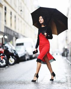 "17.6k Likes, 229 Comments - Nicole Warne (@garypeppergirl) on Instagram: ""Rain, hail or shine... Off to Lanvin today shot by @theurbanspotter """