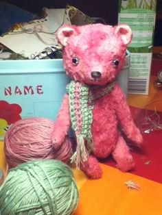 pussman & co - Pink Bear
