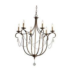 ethanallen.com - cali bronzed chandelier | ethan allen | furniture | interior design    breakfast room lighting