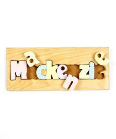 Cubbyhole Toys Personalized Puzzle