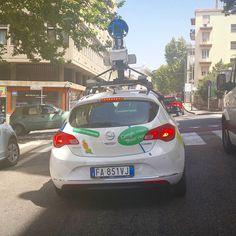 Greit å ha Google Maps å navigere etter når man kjøre rundt i en ukjent by!