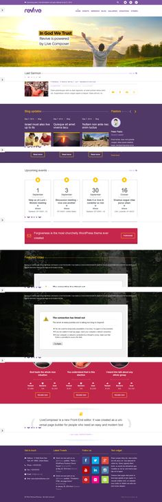 Revive  from ThemeForest - a cool wordpress theme.