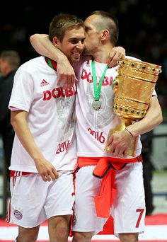Lahm and Ribery