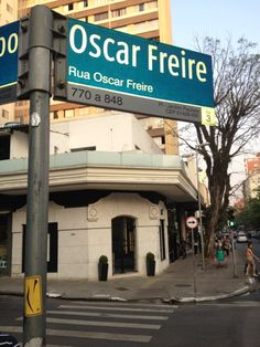 Rua Oscar Freire / São Paulo, Brazil - A tree-lined street full of great dining and shopping—it's the chic heart of São Paulo. C. Belle's favorite