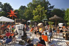 Strandbar Okercabana in der #Löwenstadt #Braunschweig. Foto by Braunschweig Stadtmarketing GmbH / Daniel Möller #meinNiedersachsen #sommer