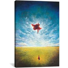 iCanvas Superman Learning to Fly Gallery-Wrapped Canvas ($30) ❤ liked on Polyvore featuring home, home decor, wall art, inspirational canvas wall art, superman wall art, inspirational home decor, superman canvas wall art and inspirational wall art