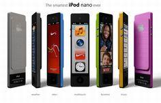 Conceito combina iPods Nano e Touch em um só player.