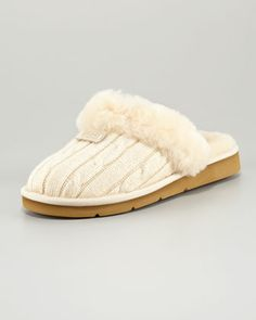 Cozy Knit Slipper Mule by UGG Australia at Neiman Marcus. $130