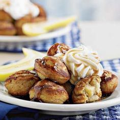 Banana-Filled Graham Cracker Pancakes...Children will love to lend a hand with this recipe, which combines graham crackers, bananas and other kid-friendly flavors.