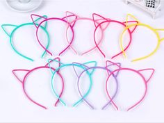 Cat Ears Headbands Choose Color in Comment Bar @ Checkout Only $4.32 Each!