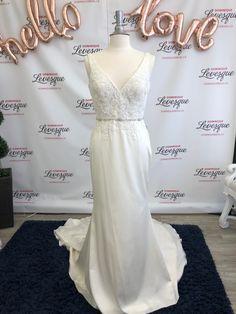 Soft elegant ivory wedding dress. Ivory Wedding, Formal Dresses, Wedding Dresses, Bridal Gowns, Elegant, Shopping, Collection, Fashion, Dress Ideas