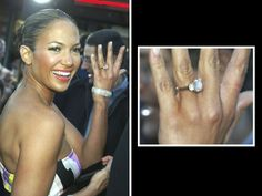 Jennifer Lopez: Ben Affleck proposed with a 6.1-carat pink Harry Winston diamond worth a reported $1.2 million. Oops!