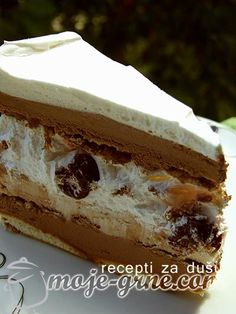 You searched for torta - Страница 4 од 48 - Moje grne Torte Recepti, Kolaci I Torte, Baking Recipes, Cake Recipes, Dessert Recipes, Cake Serving Guide, Custard Cake, Torte Cake, Biscuit Cake