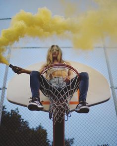 "Enola Gaye Grenade Co. (@smokegrenades) Smoke Grenade on Instagram: ""Thanks @bgwynn ・・・ Fun way to end the weekend with a #dirtbagworkshop and @dani.des killing it as…"" #PhotoshootIdeas"