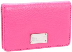 Marc by marc jacobs classic q long trifold wallet available at marc by marc jacobs classic q m3121437 business card holder in blossom colourmoves