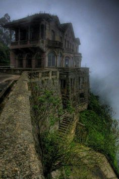 The Haunted Hotel at Tequendama Falls, Colombia