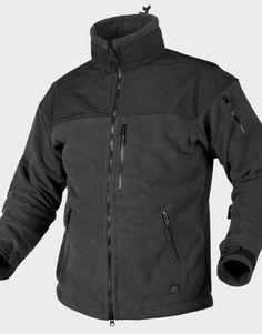 Helikon Tex CLASSIC ARMY Jacket - Fleece Windblocker - Black