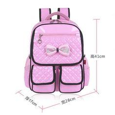 2d7e4b4431c Girls Backpacks Kids Satchel Children School Bags For Girls Orthopedic  Waterproof Backpack Child School Bag Mochila Escolar P174