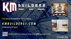 #KMBUILDERS is featured on #WOAI1200