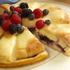 Sister Schubert's(R) Berry Cream Cheese Coffee Cake - Allrecipes.com