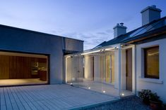 Loug Derg by Box Architecture House Renovation Ireland, Cottage Renovation, Contemporary Bathroom Designs, Contemporary Decor, Cottage House Plans, Cottage Homes, Cottage Ideas, Cottage Design, House Design