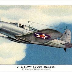 U.S. Navy Scout Bomber  -  Jeff Sexton - Google+