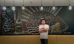 ¡¡¡Gracias a Hotel Krystal Urban Guadalajara y al Chef: Frias Rodriguez Enrique que cocina de fábula!!! #ScottNeri #arte #yoartista #ElArteDelImaginista #ScottNeriElArteDelImaginista #art #mexicanart