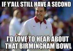 Best Alabama football memes from the 2015 season Roll Tide Football, Crimson Tide Football, Alabama Crimson Tide, Alabama College Football, University Of Alabama, American Football, Alabama Memes, Johnny Manziel, Football Memes