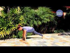 yogaTips: Beginner Stepping Forward From Downward Dog