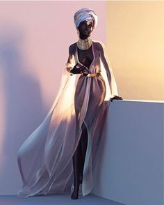 The website to view fashionable & stylish black girls Share a look with a friend! Black Girl Art, Black Women Art, Black Girl Magic, Black Art, Black Girls, African American Art, African Art, African Beauty, African Fashion