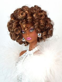 by DivaLuvv Beautiful Barbie Dolls, Pretty Dolls, Diva Dolls, Dolls Dolls, Ebony Models, Beautiful Black Babies, African American Dolls, Poppy Parker, Black Barbie