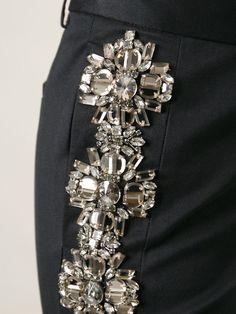 Dsquared2 Embellished Trousers - Stefania Mode - Farfetch.com