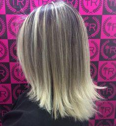 Medium Balayage Ombre Hairstyle