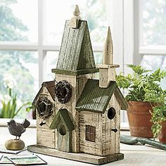 Church Birdhouse