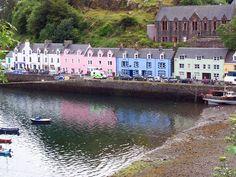 Portree, Escocia, Pueblos encantadores del mundo en los que reina la armonía
