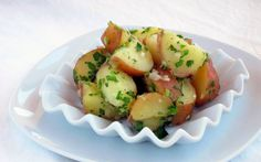 Don't turn your potato salad into MUSH!  Our simple trick for the perfect PRESSURE COOKER potato salad!