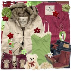 """""""243. every rose has its thorn ♥"""" by fede1943 on Polyvore"""
