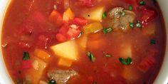 Ungarsk gullashsuppe