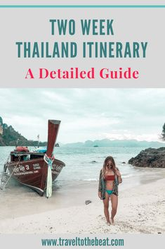 Two Weeks in Thailand Travel Itinerary and Trip Planner