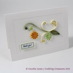 Crafting Creatures: Quilled Thank You Cards (4 of 8)