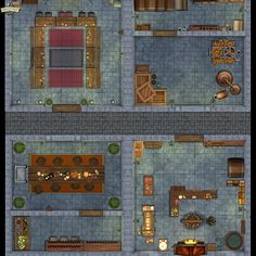 Dining Rooms, Kitchen Dining, Open The Map, Tabletop, Maps, Buildings, Castle, Link, Home Decor