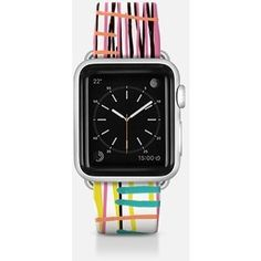 Apple Watch Band - Abstract colorful watercolor paint drips pattern