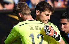 "Iker Casillas (May 2011): ""We have to take care of David De Gea because he is the future. He will pension us all off."" #SuperDave ♥"