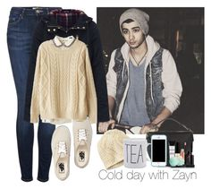 """Cold day with Zayn"" by juhteles ❤ liked on Polyvore featuring Mulberry, Topshop, Smashbox, Eos and Vans"