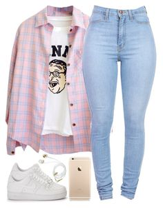 """///"" by justice-ellis ❤ liked on Polyvore featuring NIKE"