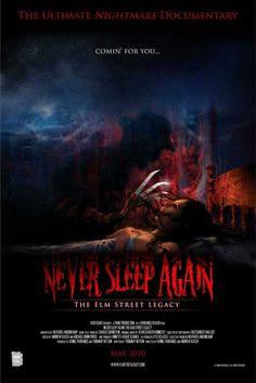 NEVER SLEEP AGAIN: THE ELM STREET LEGACY.  The multi-award winning, definitive documentary on the classic horror series.