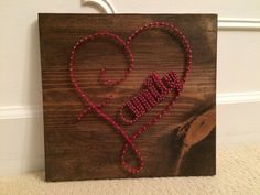 Check out this item in my Etsy shop https://www.etsy.com/listing/292941559/family-heart-string-art